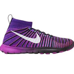 Nike Free Train Force Flyknit 'Vivid Purple Pink'